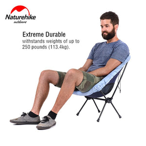 Naturehike Fishing Chair Ultralight Portable Outdoor Compact Folding Picnic Chair Fold Up Beach Chair Foldable Camping Chair