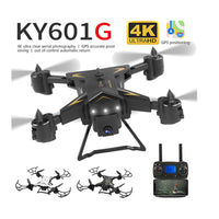 New Pro Foldable GPS Drone KY601G 4K HD Camera 5G WIFI FPV Drone LED 2.4G 4CH 1.8km Long Distance 20 Mins Flight RC Quadcopter