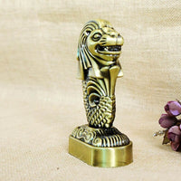 Modern Singapore Merlion Model Home Decoration Desktop Figurine Ornament Modern Office Adorn Statues Home Decoration Accessories