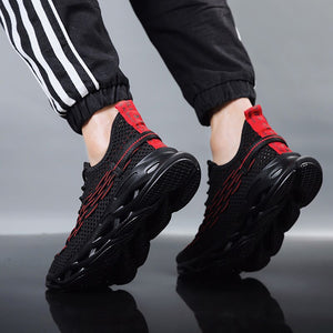 VESONAL 2020 Spring Summer hip hop Sneakers Men Shoes Casual Flyknit Breathable Comfortable Male Shoes Walking Footwear street