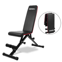 Multifunctional Adjustable Dumbbell Bench Home Gym Foldable 7 Gear Backrest Sit Up Abdominal Muscles Indoor Fitness Equipment
