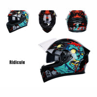 New Motorcycle Helmet Men Full Face Helmet Moto Riding ABS Material Adventure Motocross Helmet Motorbike