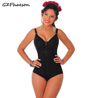 Full Body Shaper Shapewear Butt Lifter Thong Women Slimming Body Shapers Corset Modeling Strap Zipper Waist Trainer Bodysuit 6XL