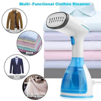 1500W Handheld Steamer Powerful Garment Steamer Portable Electric Steam Iron Ironing Machine Fabric Wrinkle Remove Home Travel