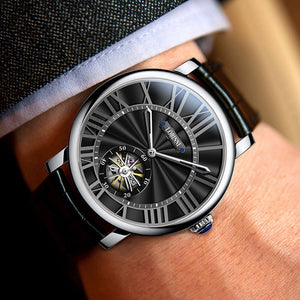 wrist watch for men,mens automatic watches LOBINNI luxury brand man dress mechanical wristwatch skeleton reloj mujer Switzerland