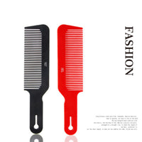 Professional Salon Hair Combs Anti-static Plastic Resin Comb Men Women Hair Styling Flat Combs Hairdressing Hair Styling Tools