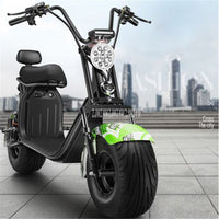Q8 1500W Electric Scooter Vehicle 18 Inch Two Wheel Adult Instead Of Walking City Electric Motorcycle 70km/150km Mileage