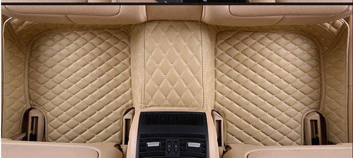 The floor mat is suv-mpv special carpet mat, which is applicable to the third row of all SUV MPV