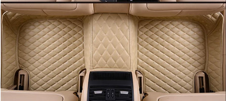 The floor mat is suv-mpv special carpet mat