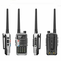 BaoFeng BF-UVB3 Plus 8W Powerful Walkie Talkie CB Ham Two Way Radio 128CH 136-174Mhz & 400-520Mhz 10KM Long Range US Plug