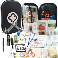 80 in 1 Outdoor survival kit Set Camping Travel Multifunction First aid SOS EDC Emergency
