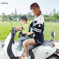 Electric car child seat front child bicycle scooter battery car motorcycle safety seat CD50 Q02