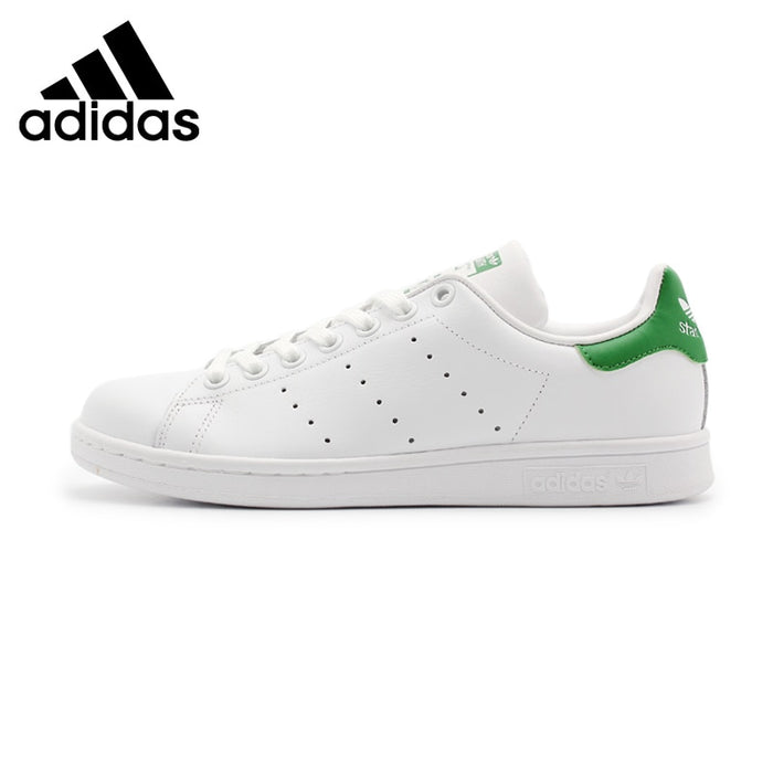 Original New Arrival  Adidas Originals STAN  SMITH  Unisex  Skateboarding Shoes Sneakers