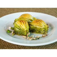 Baklava, Shell Shaped Special Turkish Baklava with Pistachio Daily Fresh Pastry