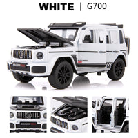 1:32 Diecast Metal Toy Car Model Vehicle SUV New G700 High Simulation Sound And Light