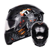 New 310 Racing helmet Modular Dual lens Motorcycle Helmet full face Safe helmets Casco cap