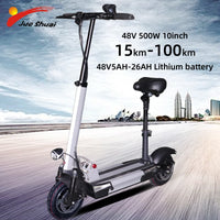 48V 500W Electric Scooter 10 inch LCD Display Lithiume Battery 48KMH Long Distance Skateboard Scooter Electric Adult E Scooter
