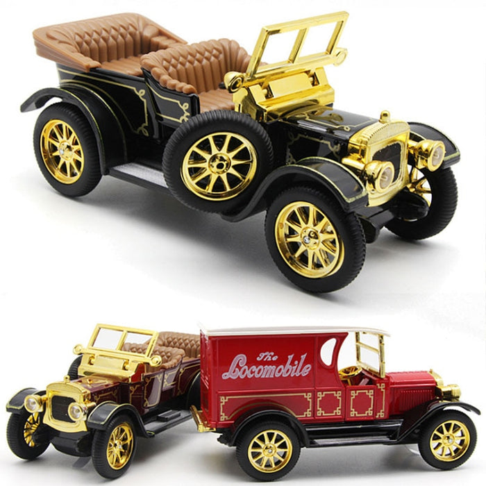 1/32 Royal classical Vintage Car Model Diecast Toy High Imitation model Gifts Cars Toys