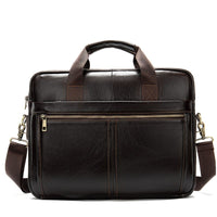 New Arrivals Men Briefcase Bag High Quality Business Famous Brand Cow Leather Shoulder Messenger Bags Office Handbag