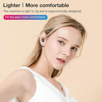 New S11 TWS Bluetooth 5.0 Headphones In-Ear Earphone IPX5 Waterproof Noise Reduction 2200mAh Black/white Wireless Headset