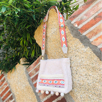 Cute Embroidery Faux Fur Shoulder Bag Girly 2019 Female Boho Chic Gypsy Hairy Messenger