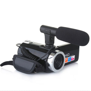 3 inch18X Digital Zoom Vlogging Camera Digital Camera Video Camcorder Microphone High Quality Camcorders Consumer Accessories