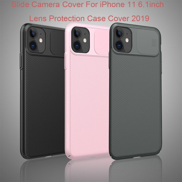 1pc Slide Camera Cover For iPhone 11 6.1inch/iPhone 11Pro 5.8inch/ iPhone 11Pro Max