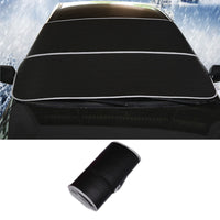 Car cover rainproof waterproof hail car windshield sunshade outdoor shading winter thickened automotive supplies