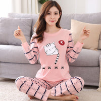Foply 7 Pieces Womens Silk Satin Pajamas Pyjamas Set Sleepwear Pijama Pajamas Suit Female