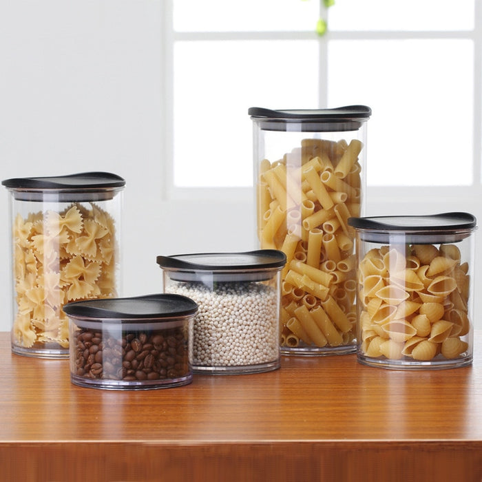 Kitchen Storage Container Food Storage Box Jar Airtight Plastic Container Cans with Cover Large