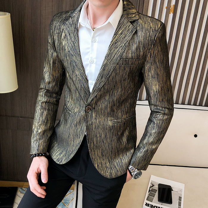2020 Spring Male Business Prom Wedding Costume Homme High Quality Blazer Jacket Men