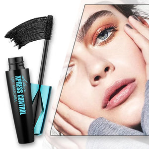 Thick Lengthening 4D Silk Eyelash Mascara Waterproof Curling Long Lasting Eye Makeup Cosmetics Black Eyelash Mascara TSLM2
