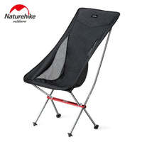 Naturehike YL06 Ultralight Camping Chair Foldable Beach Chair Hiking Chair Picnic Chair Portable Outdoors Folding Fishing Chair