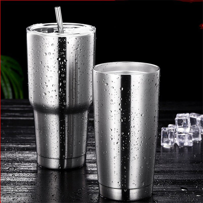 Stainless Steel Water Cup Vacuum Insulation Car Bottle Outdoor Travel Icemaster Mug Women Men Milk Beer