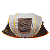 2-8 People Fully Automatic Camping Tent Windproof Waterproof Automatic Pop-up Tent Family