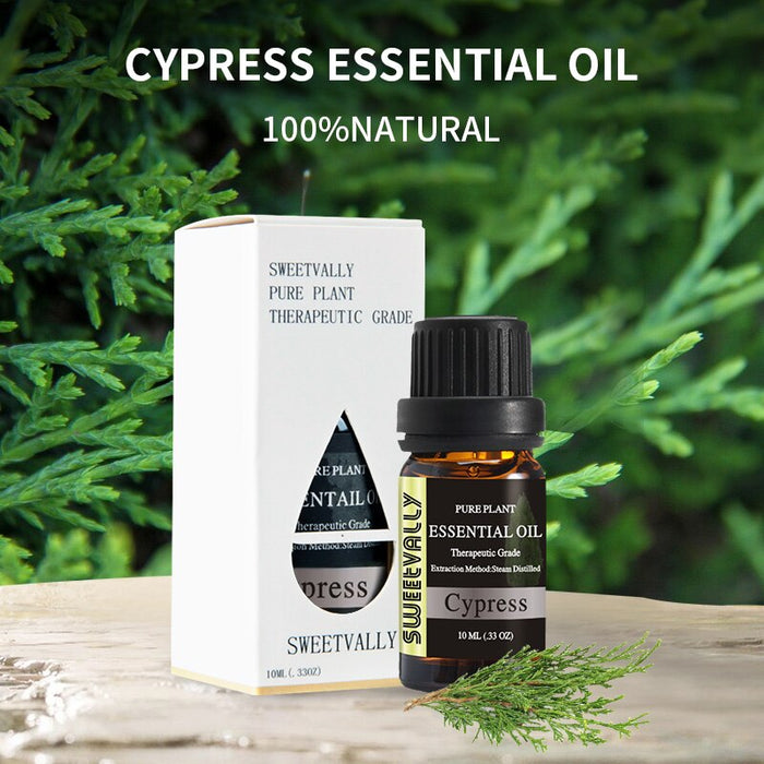10ml Essential Oil For Diffuser Burner Organic Relieve Stress Air Freshening Humidifier Oil 100%