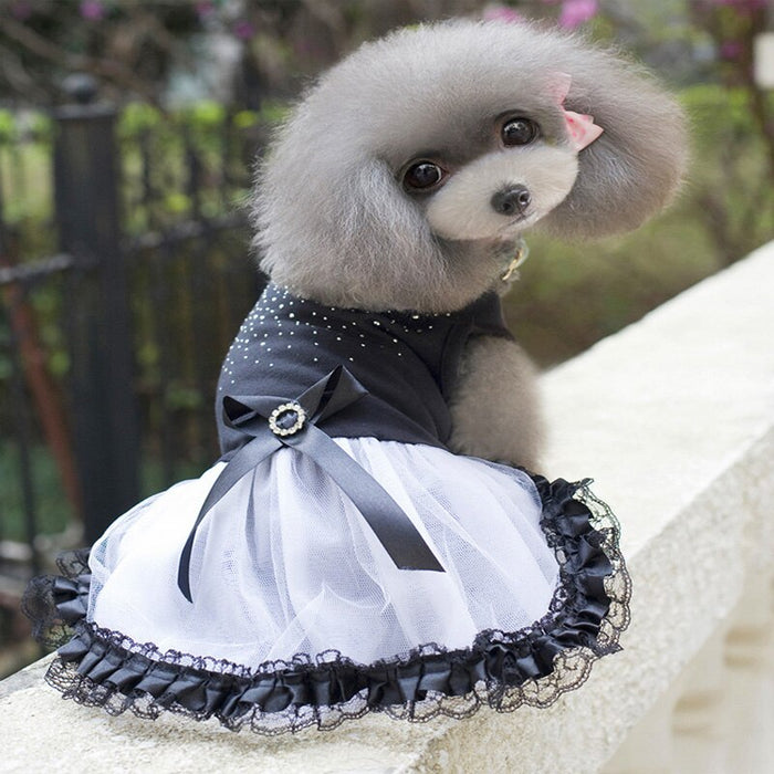 Summer Dress For Dog Pet Dog Clothes Wedding Dress Skirt Puppy Clothing Spring Fashion