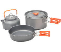 Quality Camping cookware Outdoor cookware set camping tableware cooking set travel