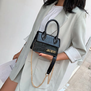 Alligator Pattern Small Ins Hot Handbags for Women 2019 New Tide Shoulder Bag Crossbody