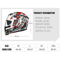 New 310 Racing helmet Modular Dual lens Motorcycle Helmet full face Safe helmets Casco capacete casque moto