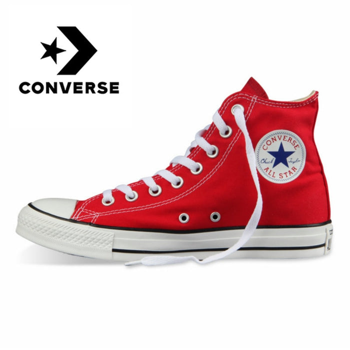 Converse All-star Men's Skateboard Shoes Classic Unisex Canvas High-top Women's Sneakers