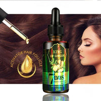 30ml Ginger Hair Growth Nutrient Solution Hair Loss Treatment Hair Protection Essential Oil