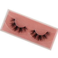 Mink Eyelashes Hand Made Crisscross False Eyelashes Cruelty Free Dramatic 3D Mink Lashes Long Lasting Faux Cils for Makeup E11