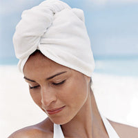 Quick Drying Microfiber Hair Towel Wrapped Turban Turbie Twist Hat Caps Spa Bath Water