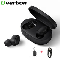 TWS Bluetooth 5.0 Headsets A6S Wireless Earphone Earbuds Noise Cancelling With Headphone Case For iPhone Huawei Samsung