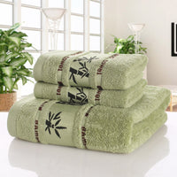 Bamboo Towels Super Soft Face Bath Towel Set Summer Cool Bamboo Microfiber Bathroom Towels for Adults Absorbent Home