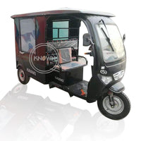2020 New design food cart electric tricycle three wheels food truck on the road for sale