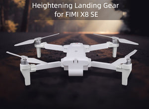 Extended Heightning Landing Gear Leg  Protector Extension For XiaoMi Fimi X8 SE Drone Quadcopter Drone Quadcopter children #G20