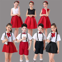 7Style Japanese School Uniform for Girls Student Skirt JK Japan College Class Chorus Stage Performance Clothing 100-160CM
