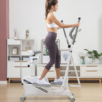 Adult stepping elliptical machine home magnetic control sp ace walker small stepper indoor mute treadmill removable